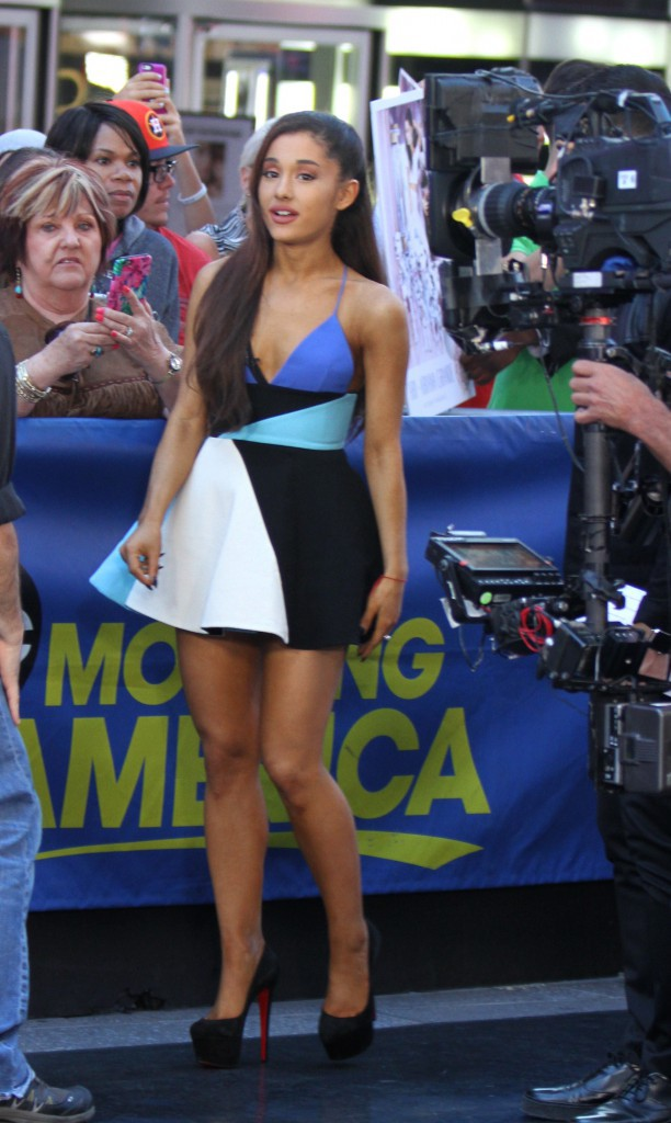 Ariana Grande à New-York le 15 septembre 2015