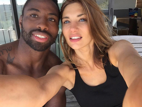 Ariane Brodier et son chéri Fulgence Ouedraogo