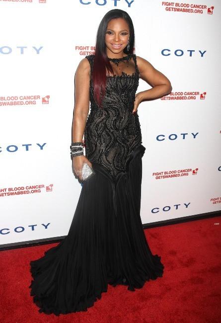 Ashanti lors du Gala DKMS à New York, le 26 avril 2012.