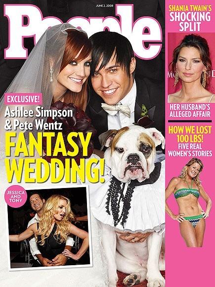 La couverture de People sur leur mariage !