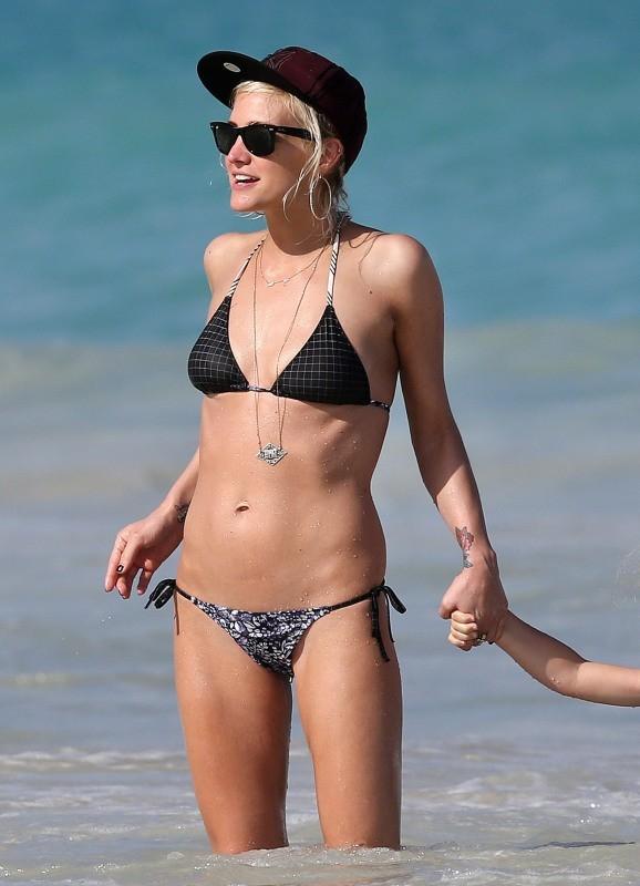 Ashlee Simpson le 29 décembre 2012 à Hawaii
