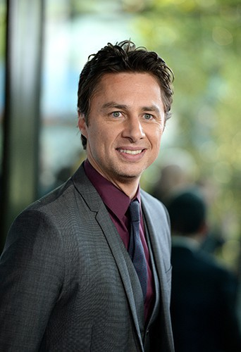 Zach Braff à Los Angeles le 23 juin 2014