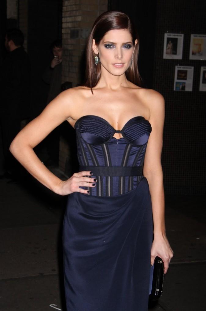 """Ashley Greene lors d'une projection spéciale de """"Twilight - Chapitre 5"""" à New York, le 15 novembre 2012."""