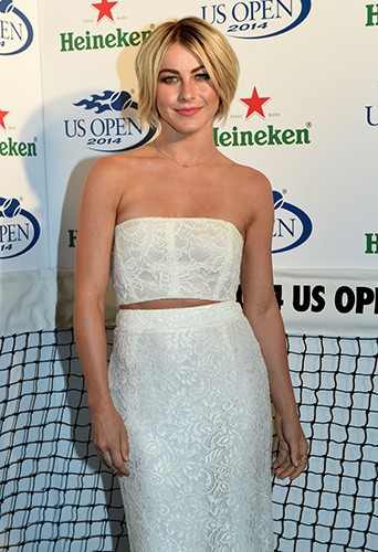 Julianne Hough à New York le 21 août 2014