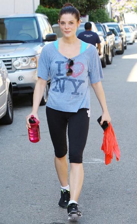 Et elle aime le porter pour la gym...