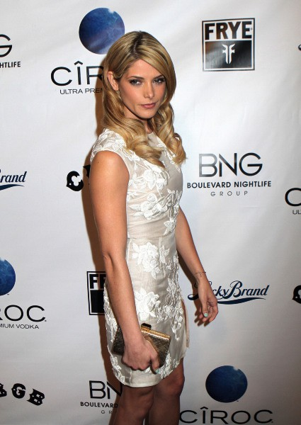 "Ashley Greene à la première du film ""CBGB"" à Hollywood, le 1er octobre 2013."