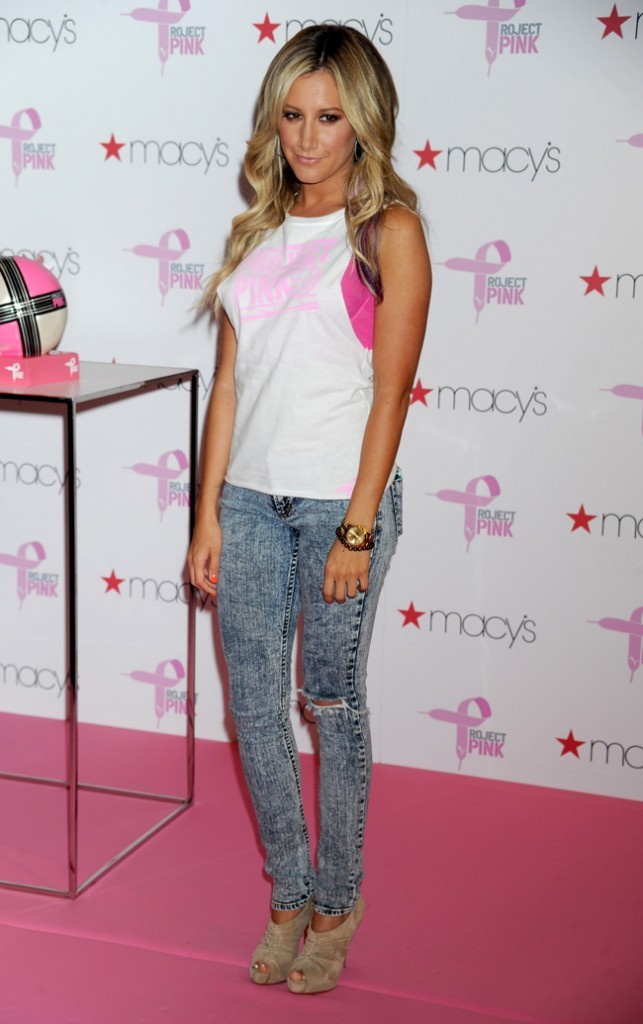 Ashley Tisdale le 19 juillet 2012 à New York