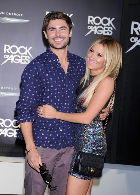 Zac Efron et Ashley Tisdale lors de la première du film Rock of Ages à Los Angeles, le 8 juin 2012.