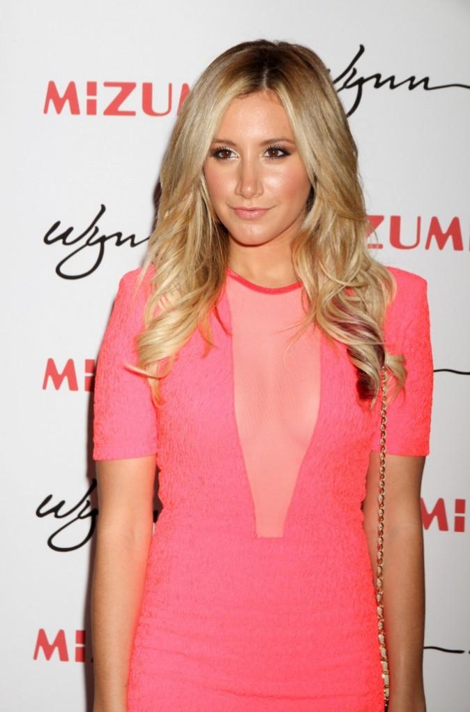 Ashley sur la tapis rouge de l'événement !