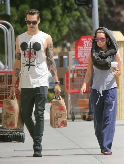 Ashley Tisdale et son boyfriend Christopher French