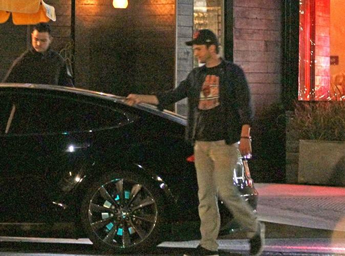 Ashton Kutcher à Los Angeles le 12 mars 2014