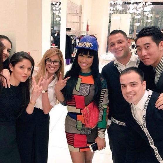Nicki Minaj à Dubaï