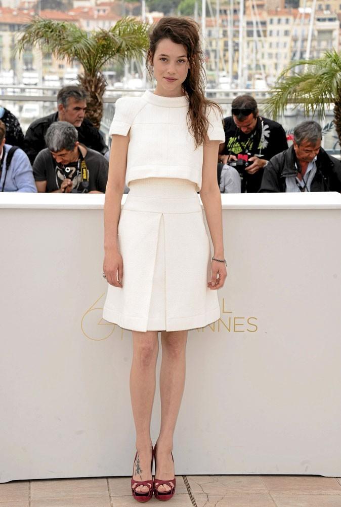 Astrid Bergès-Frisbey lors du Festival de Cannes 2011 pour le photocall de Pirates des Caraïbes 4