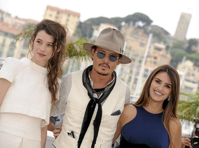 Johnny Depp, toujours très bien entouré !