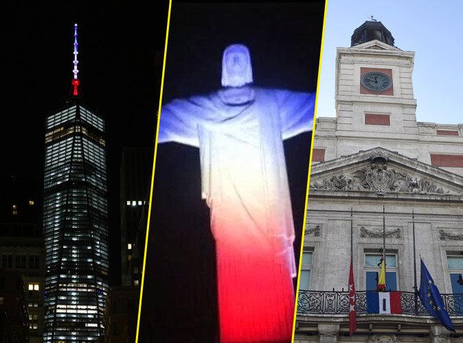 Photos : Attentats de Paris : New York, Rio, Madrid… Le monde continue ses hommages