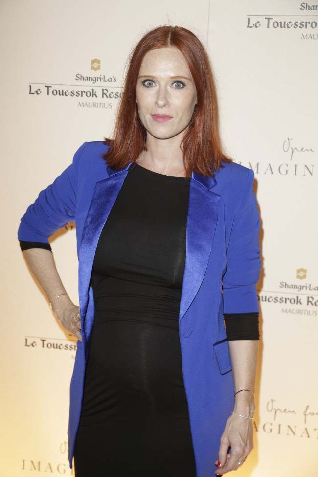 Audrey Fleurot à Paris le 22 sseptembre 2015