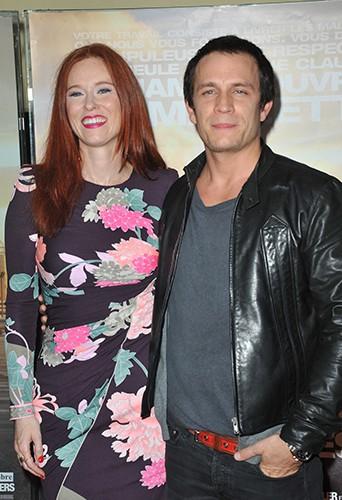 Audrey Fleurot et Jérémie Renier à Paris le 7 octobre 2013