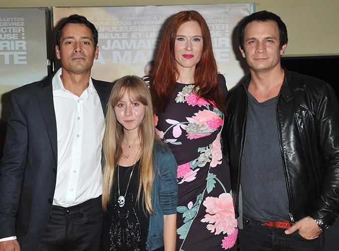 Jean-Baptiste Andrea, Mélusine Mayance, Audrey Fleurot et Jérémie Renier à Paris le 7 octobre 2013