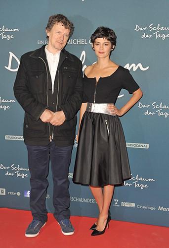 Audrey Tautou et Michel Gondry à Berlin le 17 septembre 2013
