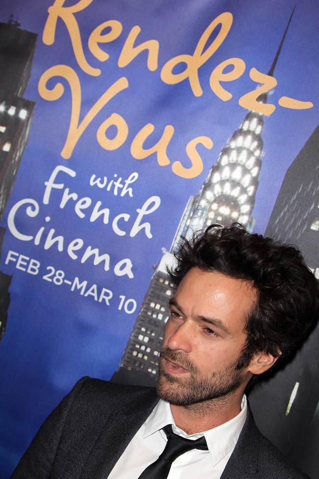 Romain Duris au festival Rendez-vous With French Cinema de New-York le 28 février 2013