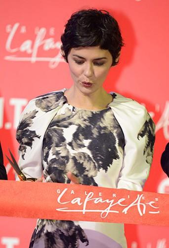 Audrey Tautou à Pékin le 18 octobre 2013