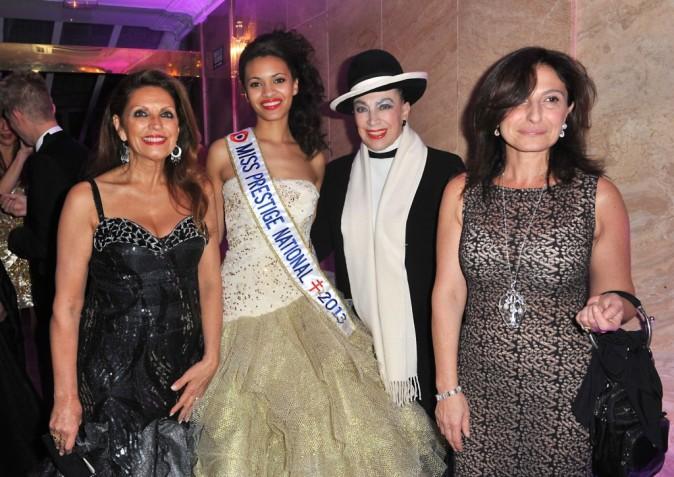 Auline Grac (Miss Prestige National 2013) au Best Awards 2012 à Paris le 11 décembre 2012
