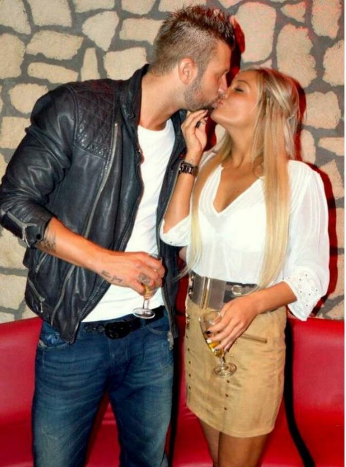 Benjamin et Aurélie très amoureux