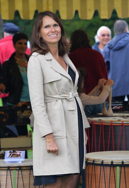 Photos : Aurélie Filippetti enceinte et radieuse aux côtés d'Arnaud Montebourg !