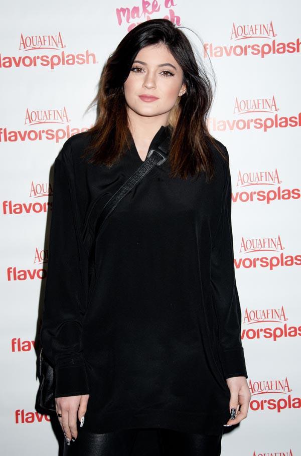 Kylie Jenner à New-York le 29 janvier 2014