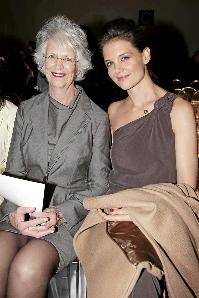 Katie Holmes et sa maman !