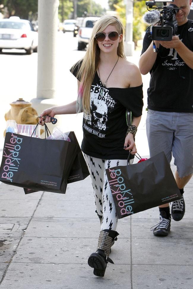 Avril et le shopping, une grande histoire !