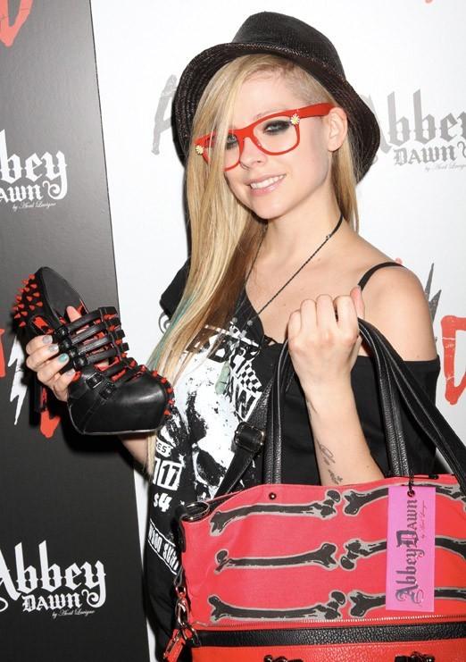 Avril Lavigne à Las Vegas le 21 août 2012
