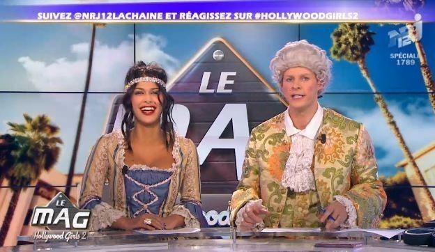 Ayem et Matthieu Delormeau pour Hollywood Girls 2