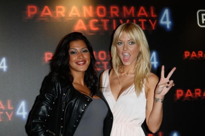 Ayem et Caroline Receveur le 19 octobre 2012 à Paris