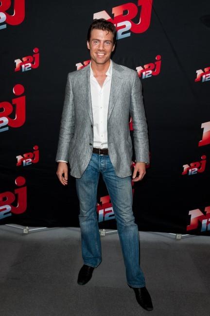 Matthias Pohl lors de la conférence de presse NRJ 12, le 12 juillet 2012.