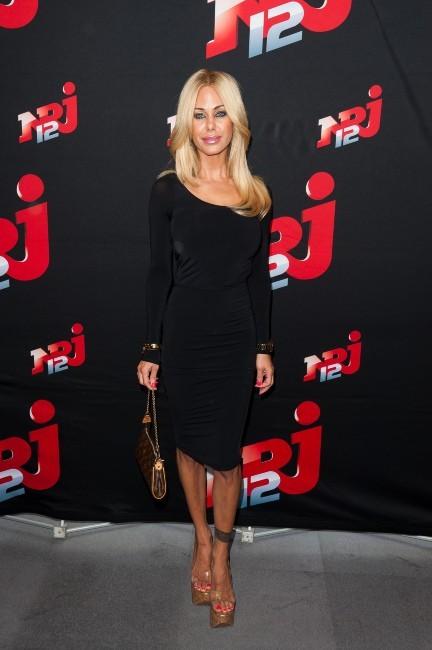 Shauna Sand lors de la conférence de presse NRJ 12, le 12 juillet 2012.