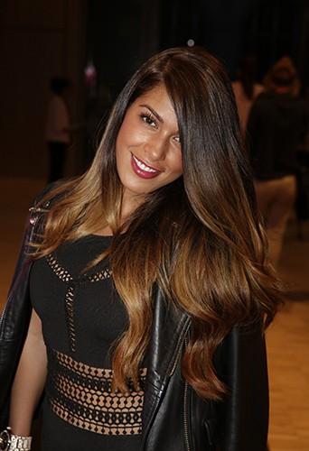 Ayem Nour le 4 juin 2015