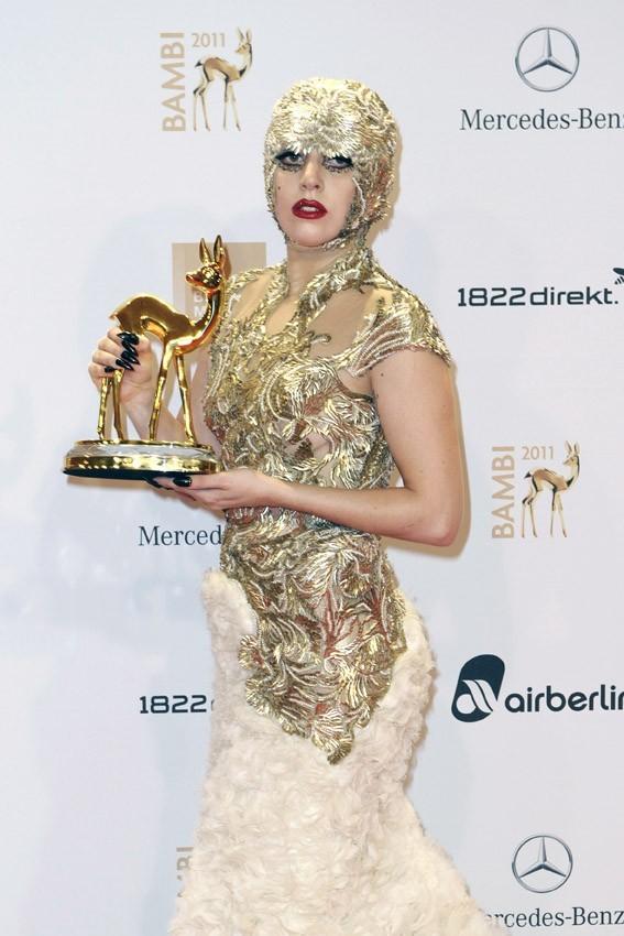 La star a remporté un Bambi Award !