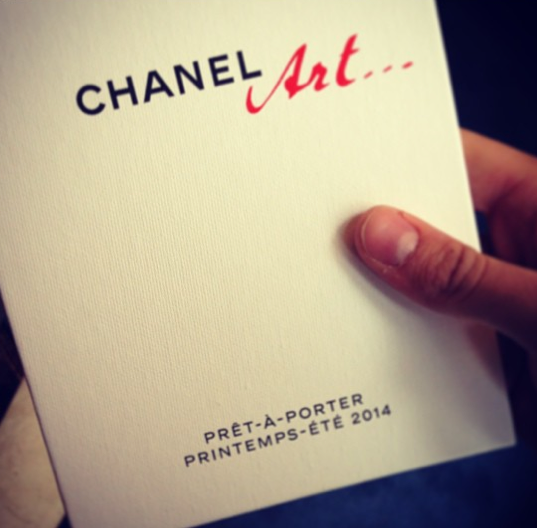 Baptiste Giabiconi au défilé Chanel !