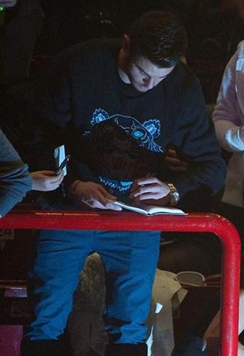 Photos : Baptiste Giabiconi : premier fan de Justin Bieber !