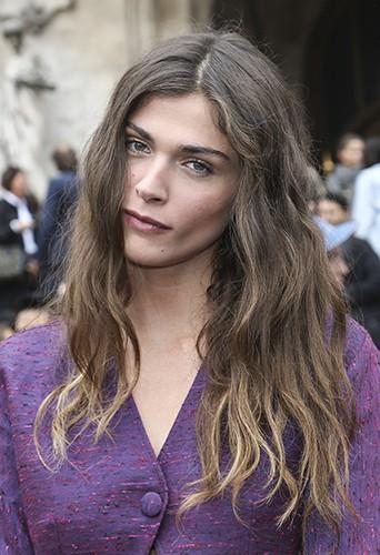 Elisa Sednaoui à Paris le 29 septembre 2014