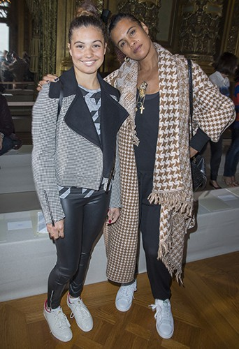 Neneh Cherry et sa fille à Paris le 29 septembre 2014