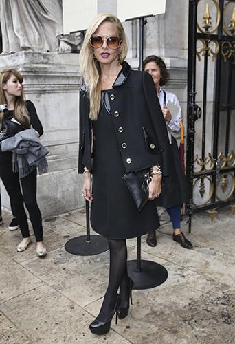 Rachel Zoe à Paris le 29 septembre 2014