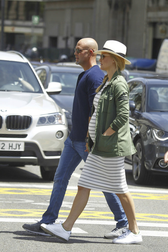 Adi Ezra et Bar Refaeli en vacances à Barcelone