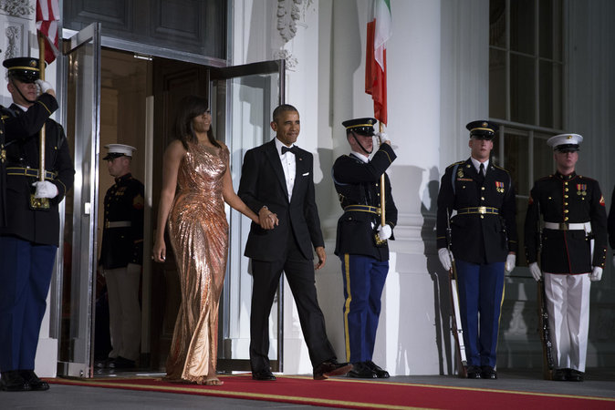 Photos : Barack et Michelle Obama : l'élégance présidentielle par excellence !