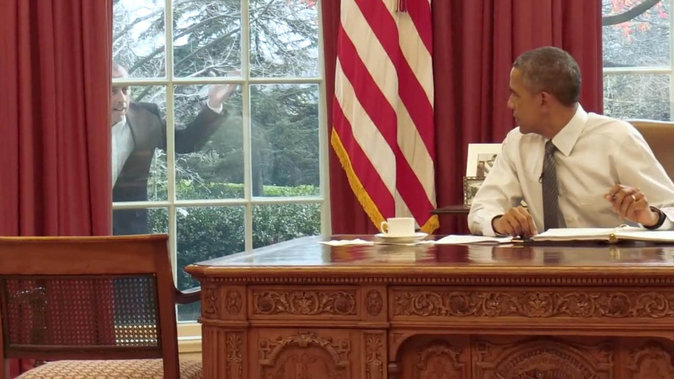 Photos : Barack Obama : Guest Star d'une série US !