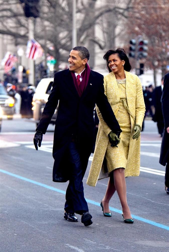 Michelle et Barack Obama, en 2009