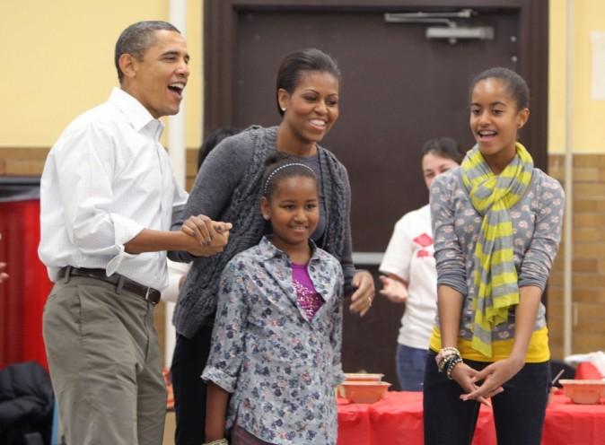 Le clan Obama en 2011