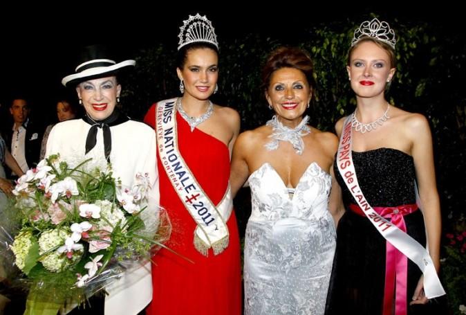 Avec Miss Pays de l'Ain 2011