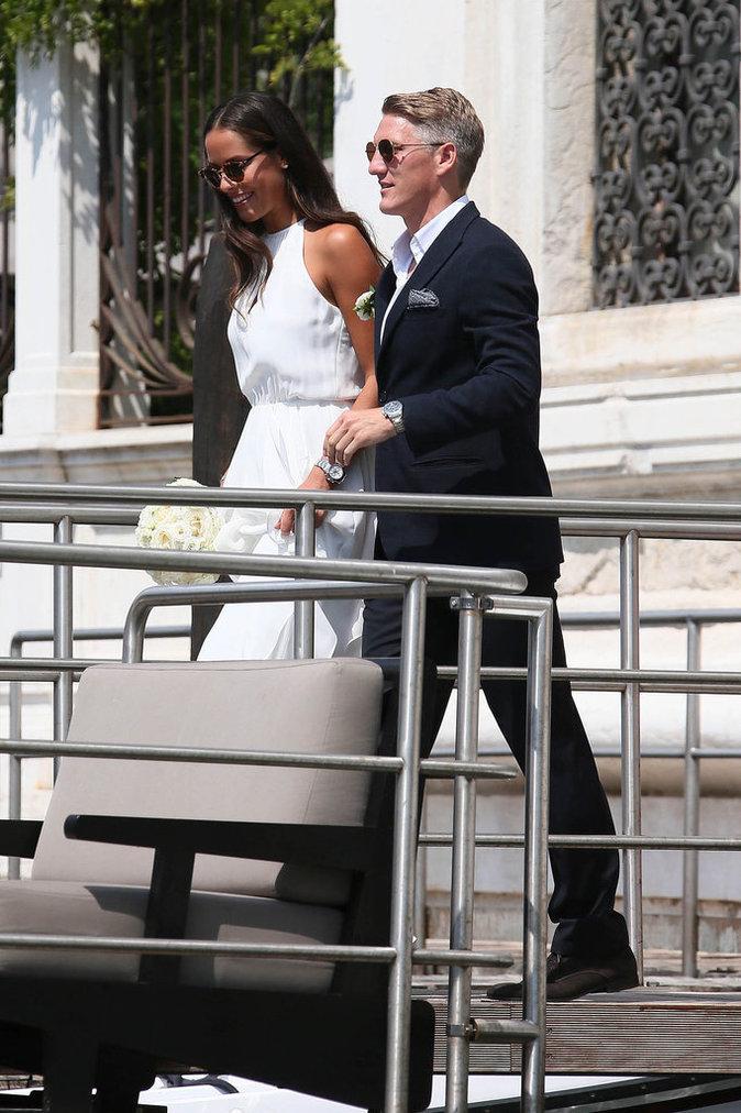 Bastian Schweinsteiger et Ana Ivanovic, le 12 juillet à Venise